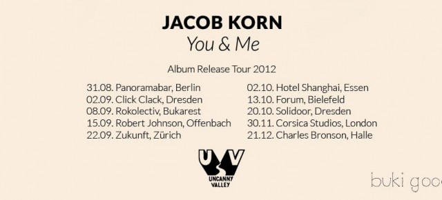 Jacob Korn - You &amp; Me - Album Release Tour